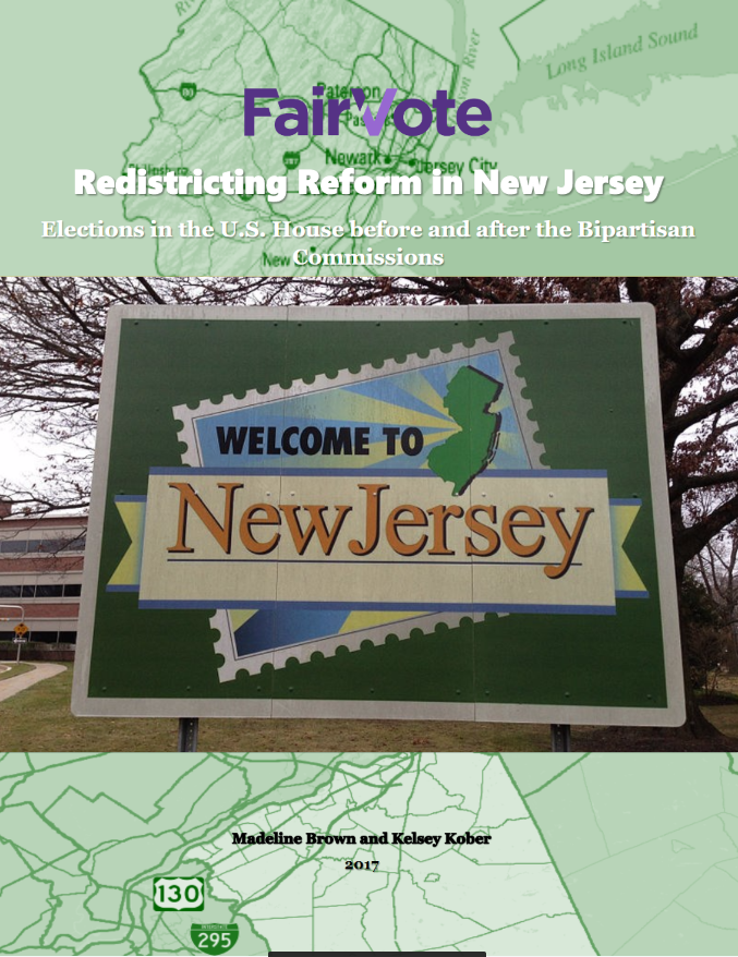 New Jersey Redistricting Report