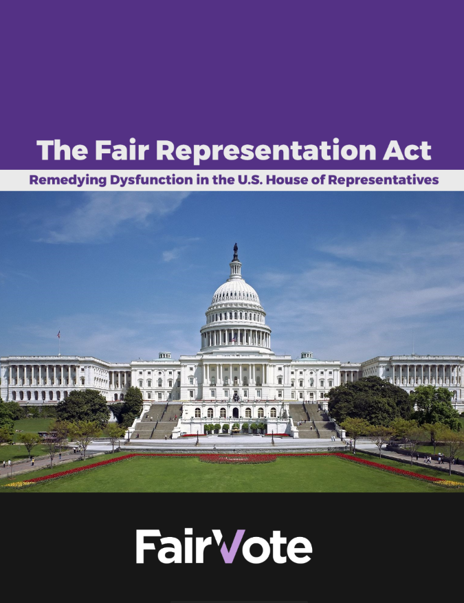 Fair Representation Act Report