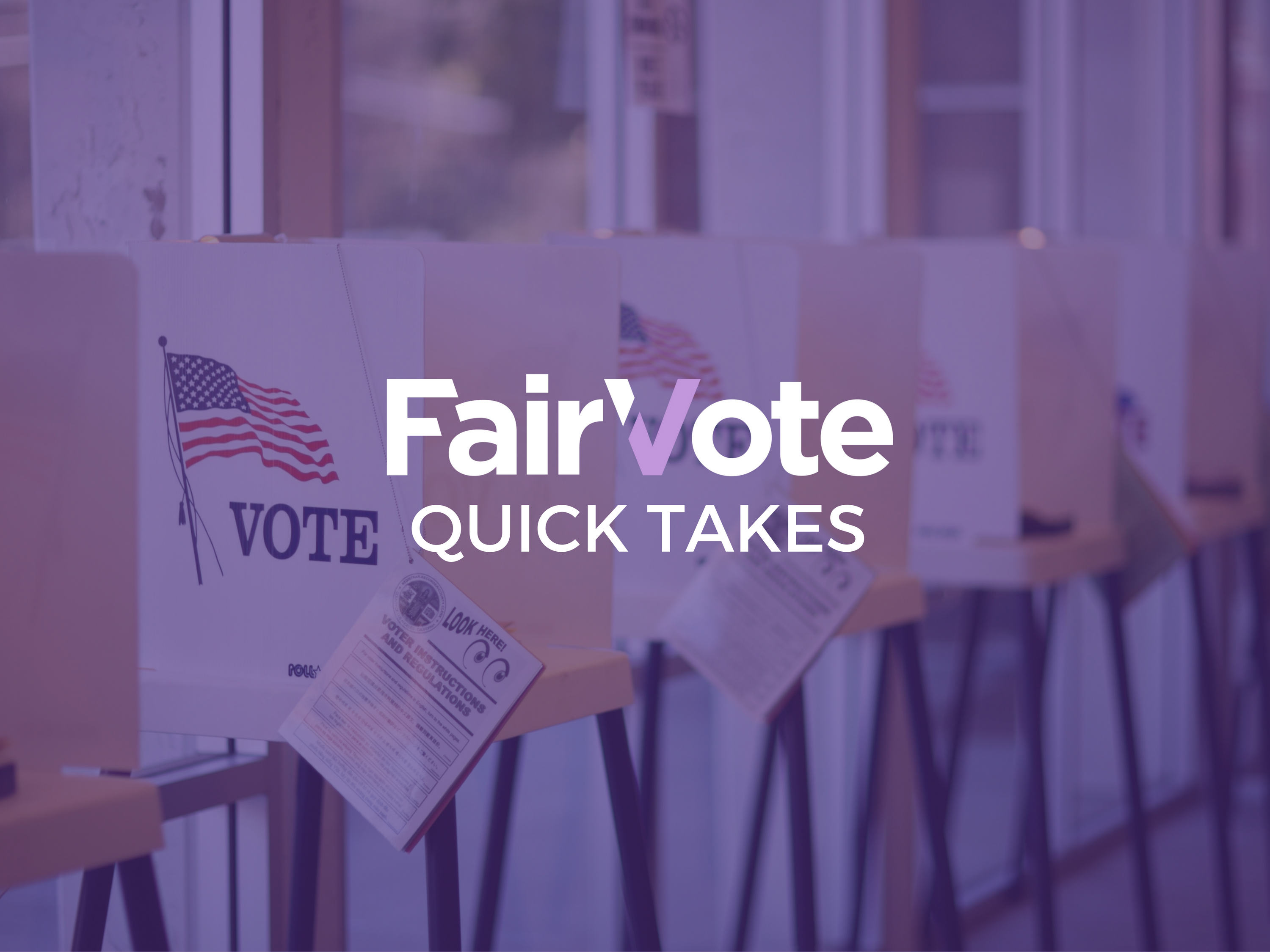 Happy holidays, from FairVote