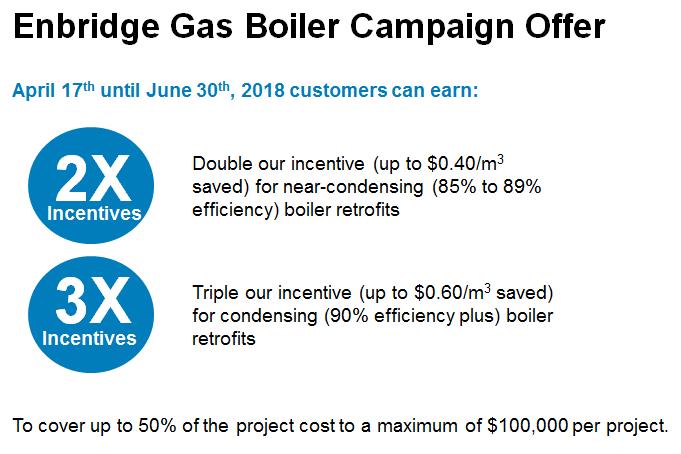 Enbridge boiler campaign