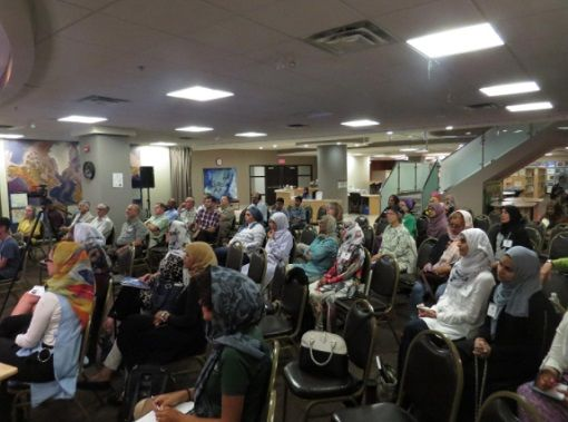 audience at Jaffari Centre