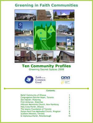 Greening Faith Communities