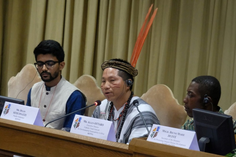 Vatican conference youth panel