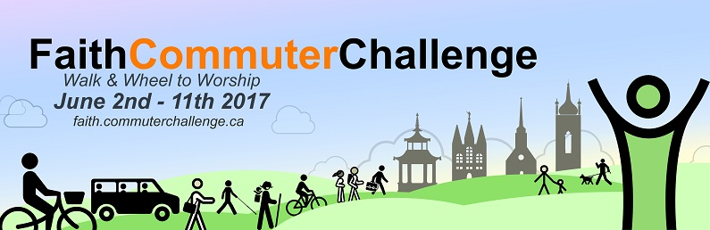 Faith Commuter Challenge banner