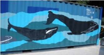 whale container