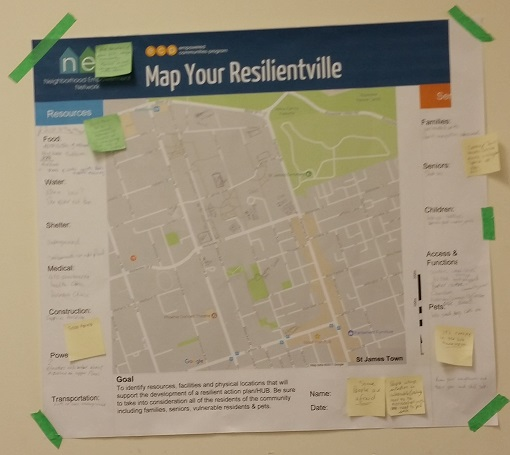 Map Your Resilientville