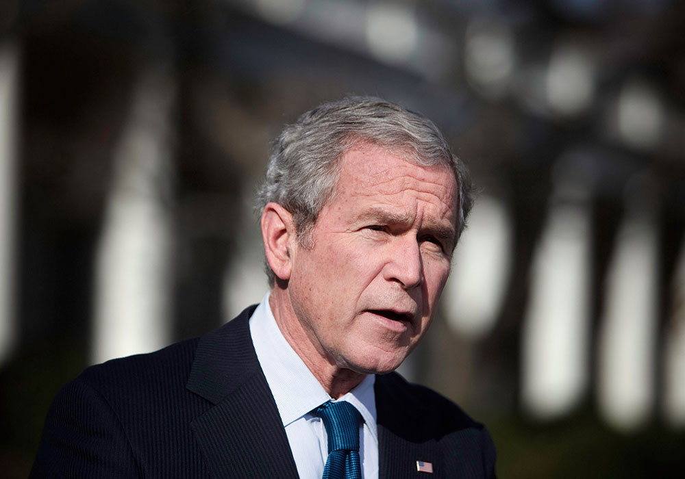 the political upbringing of george w bush