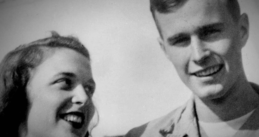 Love Letter From George Hw Bush To Barbara During Ww2 Is