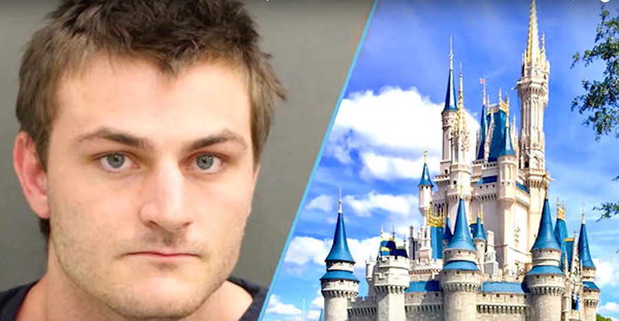 Youtuber Arrested For Faking Mass Shooting In Disney World To Film