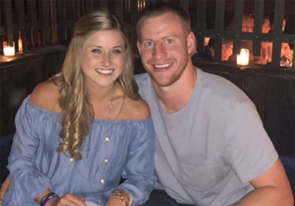 Carson Wentz Wedding.Nfl Star Carson Wentz Gets Married Fans Swoon Over His Biblical