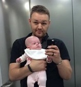 Mark and baby