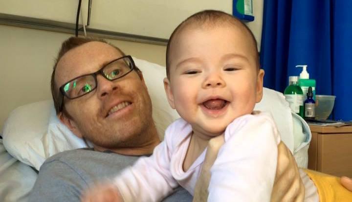 David and baby Maya