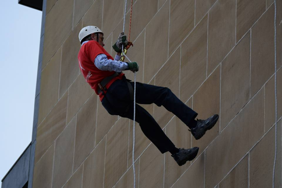 Dougal Drysdale's sponsored abseil