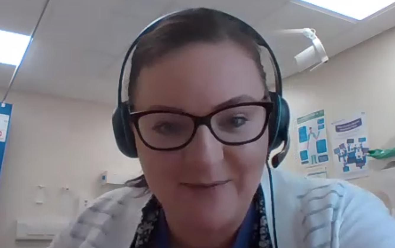 Stephanie Mair, PMH Midwife, NHSGGC