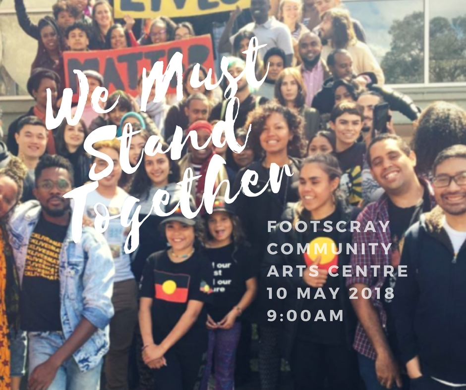 EVENT: We Must Stand Together