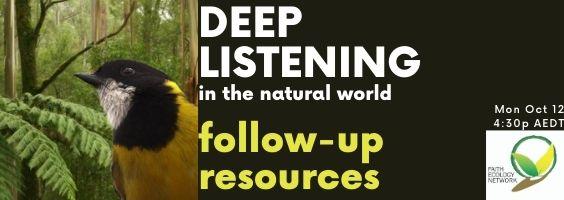 deep listening resources