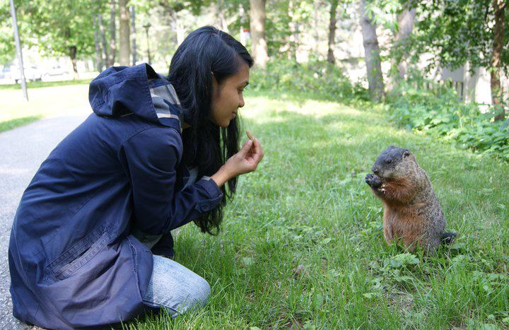 Tanzil_with_groundhog.jpg