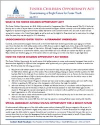 FCOA Fact Sheet