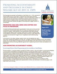 Promoting Accountability and Excellence in Child Welfare Act