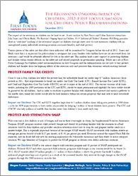 Recession Paper Policy Recommendations