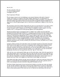 FCOA Letter