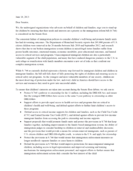 Children Senate Immigration Reform Letter FINAL