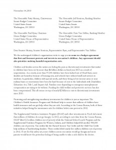 Children's Budget Coalition Letter to Budget Conference_Page_1