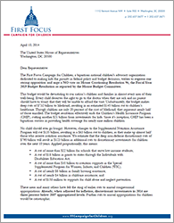 House 2015 Budget Letter