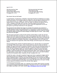 Psychotropic Sign On Letter Senate Leadership