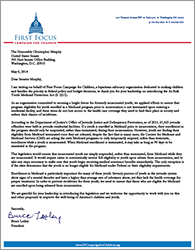 Medicaid At Risk Youth Letter