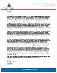 Strong Start HELP Letter