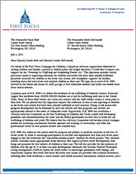 Trafficking Bill Endorsement