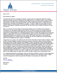 Issa DACA Letter
