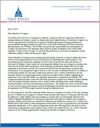 TVPRA Letter