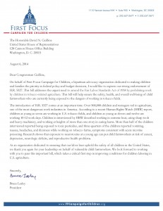 FFCC HR 5327 Letter of Endorsement