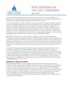 114th Congress Kids Agenda - Congress_Page_01
