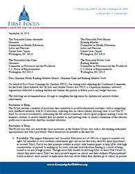 ESEA Conference Letter