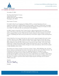 Letter in Support of S1495