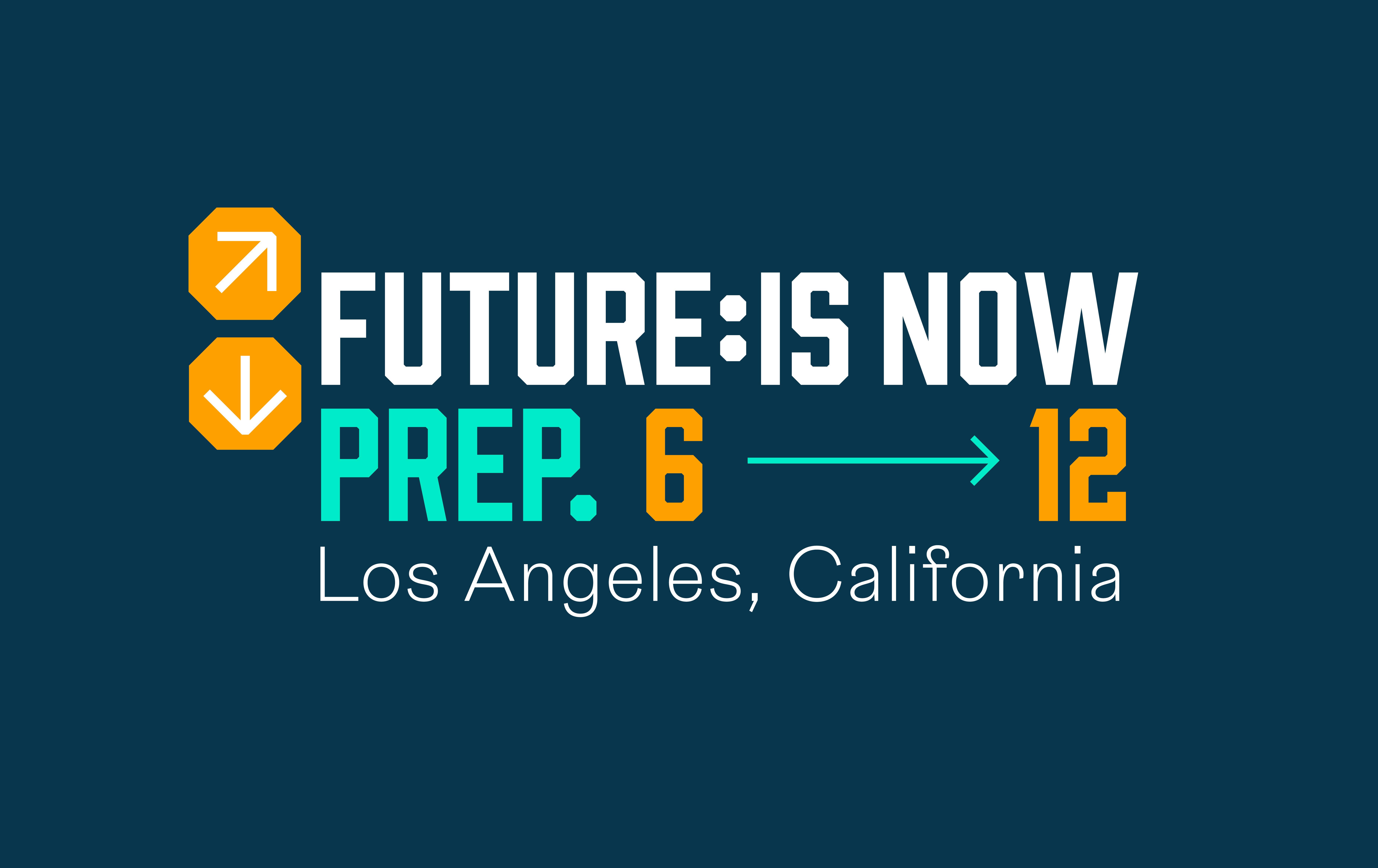 Future Is Now Prep. Intro Logo