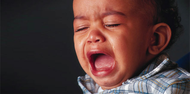 Photo of baby crying