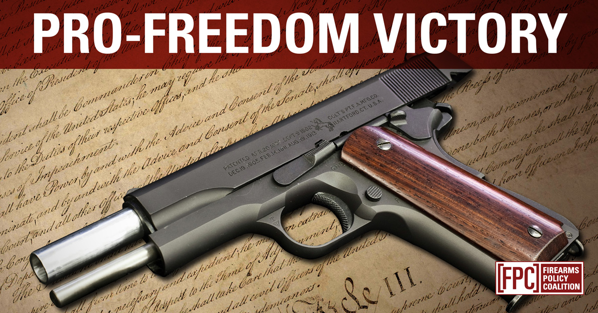 FPC News - Firearms Policy Coalition