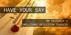 Call for ambitious Emissions Reduction Targets for Victoria!