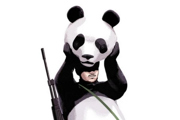 Image done by Buzzfeed: WWF Panda becomes militant