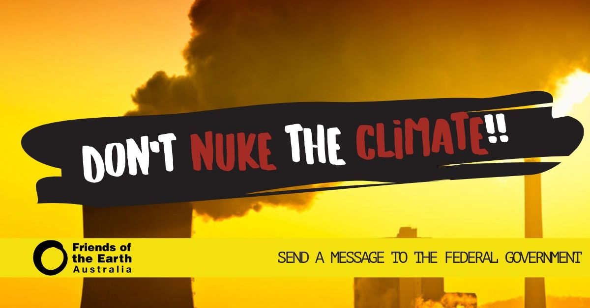 Don't nuke the climate!