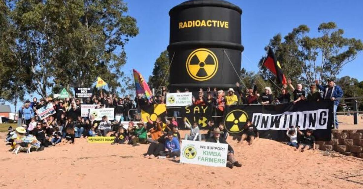 Community protest Kimba nuclear waste dump