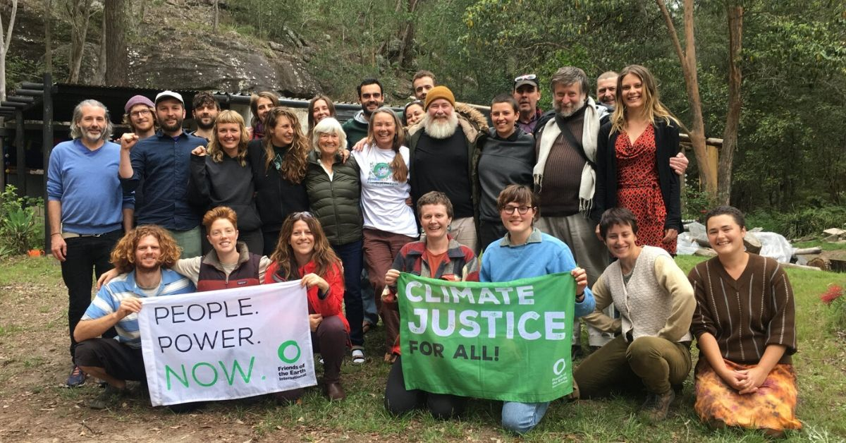 Everyone from Friends of the Earth Australia sends love and solidarity to all those affected by the crisis
