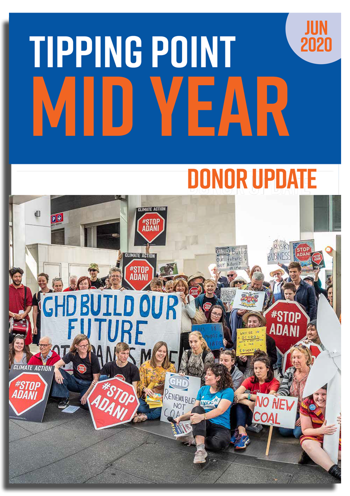 Tipping Point Mid Year Donor Report
