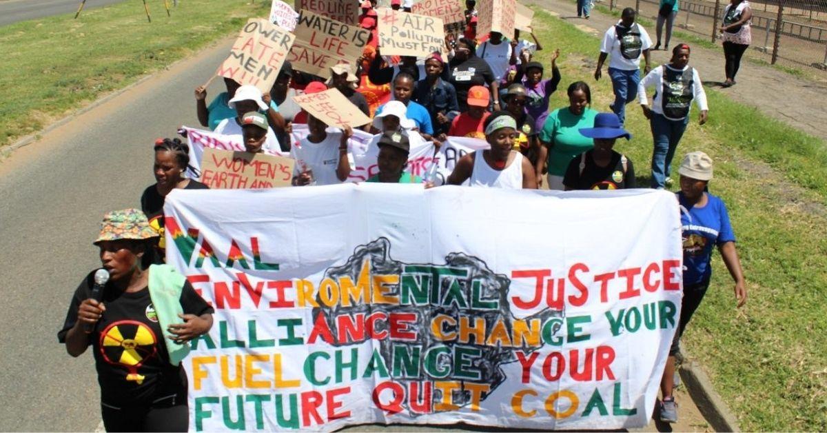 African women march - Pic Credit: Caroline Ntaopane/Womin.