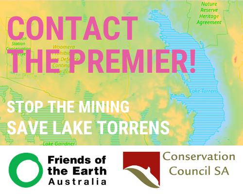Save Lake Torrens