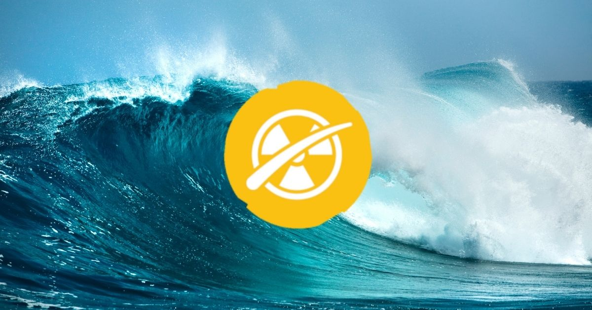 Ocean with a nuclear free symbol